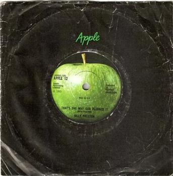BILLY PRESTON - THAT'S THE WAY GOD PLANNED IT - APPLE 12