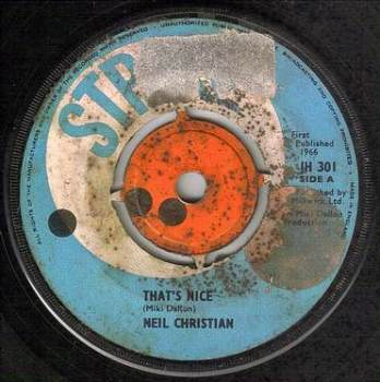 NEIL CHRISTIAN - THAT'S NICE - STRIKE