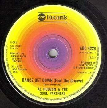AL HUDSON - DANCE GET DOWN - ABC
