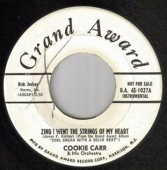 COOKIE CARR - ZING! WENT THE STRINGS OF MY HEART - GRAND AWARD DEMO