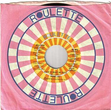 BIMBO JET - LOVE IS WHAT WE NEED - ROULETTE DEMO