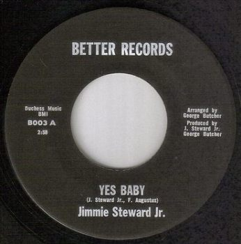JIMMIE STEWARD JR - YES BABY - BETTER