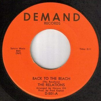 RELATIONS - BACK TO THE BEACH - DEMAND