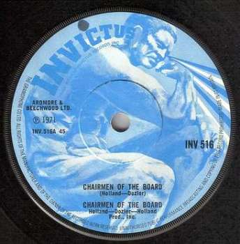 CHAIRMEN OF THE BOARD - CHAIRMEN OF THE BOARD - INVICTUS