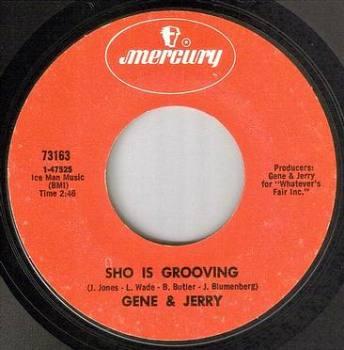 GENE & JERRY - SHO IS GROOVING - MERCURY