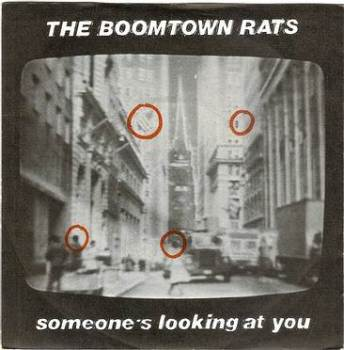 BOOMTOWN RATS - SOMEONE'S LOOKING AT YOU - ENSIGN