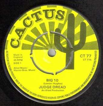JUDGE DREAD - BIG 10 - CACTUS