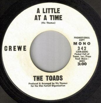 TOADS - A LITTLE AT A TIME - CREWE DEMO