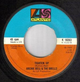ARCHIE BELL & THE DRELLS - TIGHTEN UP - ATLANTIC