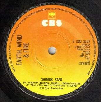 EARTH WIND & FIRE - SHINING STAR - CBS