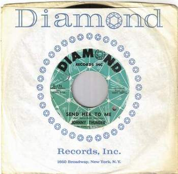 JOHNNY THUNDER - SEND HER TO ME - DIAMOND