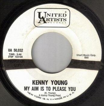 KENNY YOUNG - MY AIM IS TO PLEASE YOU - UA DEMO