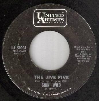 JIVE FIVE - GOIN' WILD - UA