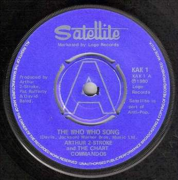 ARTHUR 2-STROKE - THE WHO WHO SONG - SATELLITE