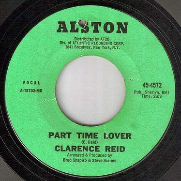 CLARENCE REID - PART TIME LOVER - ALSTON
