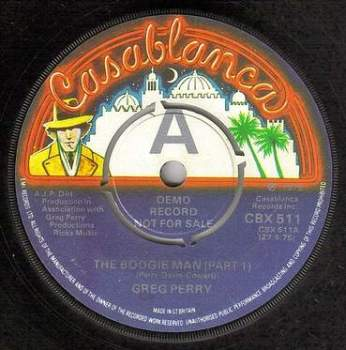 GREG PERRY - THE BOOGIE MAN - CASABLANCA DEMO