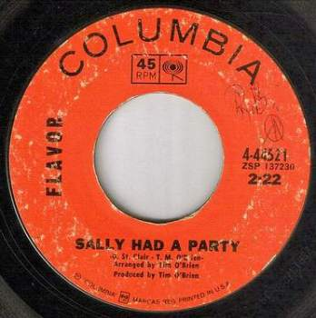 FLAVOR - SALLY HAD A PARTY - COLUMBIA
