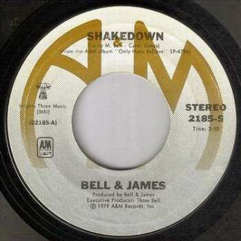 BELL & JAMES - SHAKEDOWN - A&M