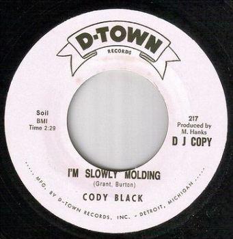 CODY BLACK - I'M SLOWLY MOLDING - D TOWN