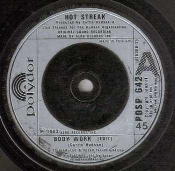 HOT STREAK - BODY WORK - POLYDOR