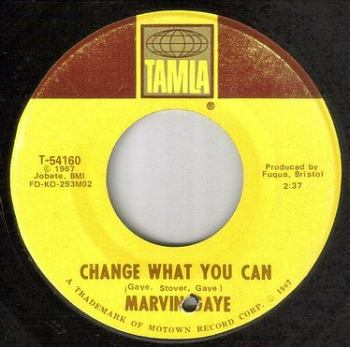 MARVIN GAYE - CHANGE WHAT YOU CAN - TAMLA