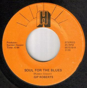 GIP ROBERTS - SOUL FOR THE BLUES - H