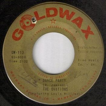 OVATIONS - DANCE PARTY - GOLDWAX