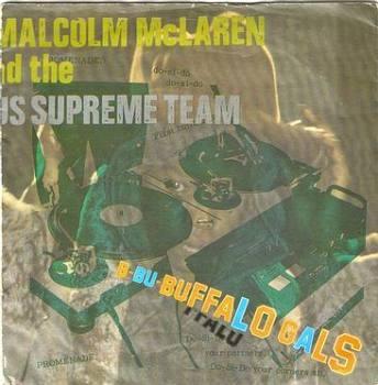 MALCOLM McLAREN - BUFFALO GALS - CHARISMA