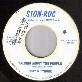 TONY & TYRONE - TALKING ABOUT THE PEOPLE - STON-ROC DEMO