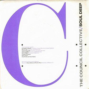 COUNCIL COLLECTIVE - SOUL DEEP - POLYDOR