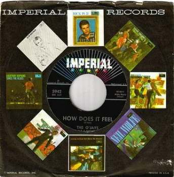 O'JAYS - HOW DOES IT FEEL - IMPERIAL