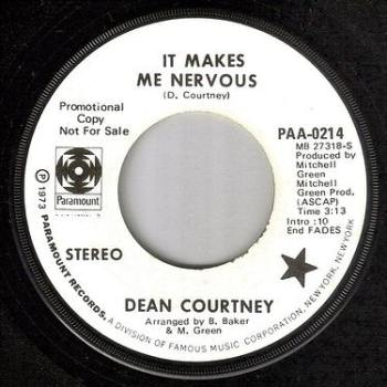 DEAN COURTNEY - IT MAKES ME NERVOUS - PARAMOUNT DEMO