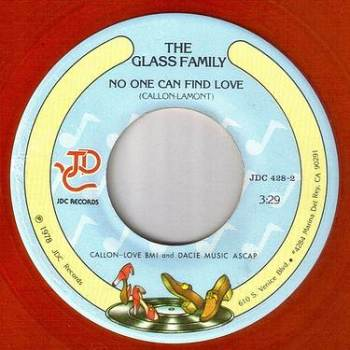 GLASS FAMILY - NO ONE CAN FIND LOVE - JDC