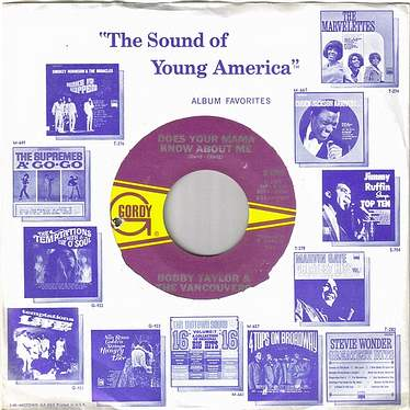 BOBBY TAYLOR - DOES YOUR MAMA KNOW ABOUT ME - GORDY