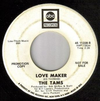 TAMS - LOVE MAKER - ABC DEMO