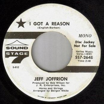 JEFF JOFFRION - I GOT A REASON - SS7 DEMO