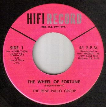 RENE PAULO GROUP - THE WHEEL OF FORTUNE - HIFI