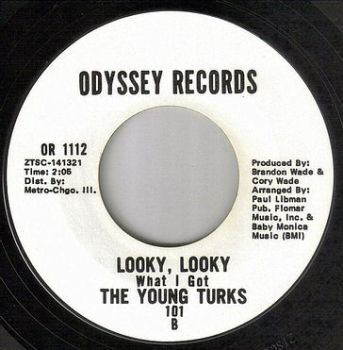 YOUNG TURKS - LOOKY, LOOKY - ODYSSEY