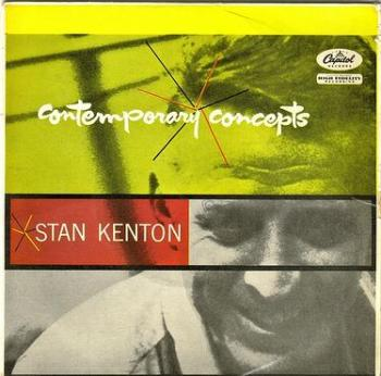 STAN KENTON & HIS ORCHESTRA - CONTEMPORARY CONCEPTS - CAPITOL E.P.