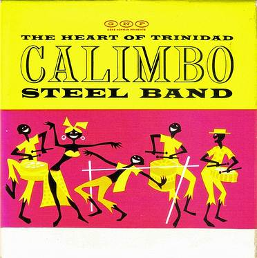 CALIMBO STEEL BAND - LIMBO - VOCALION E.P.