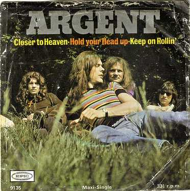 ARGENT - HOLD YOUR HEAD UP - EPIC