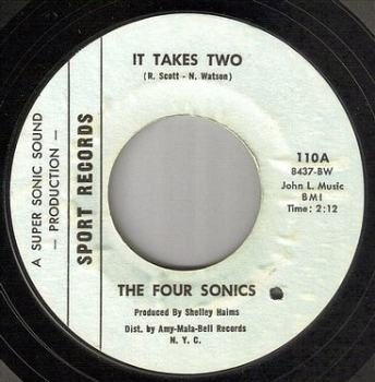 FOUR SONICS - IT TAKES TWO - SPORT