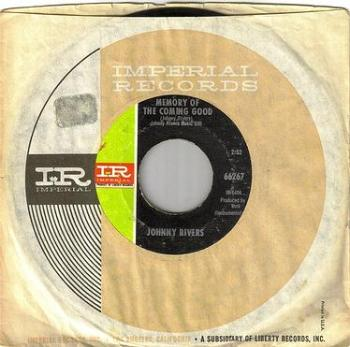 JOHNNY RIVERS - MEMORY OF THE COMING GOOD - IMPERIAL