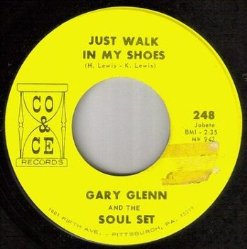 GARY GLENN & THE SOUL SET - JUST WALK IN MY SHOES - CO & CE