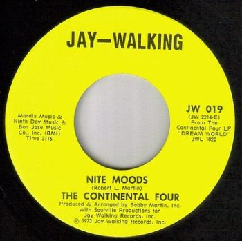 CONTINENTAL FOUR - NITE MOODS - JAY WALKING