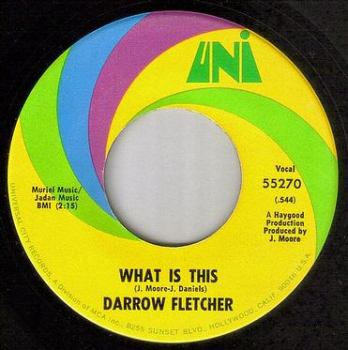 DARROW FLETCHER - WHAT IS THIS - UNI