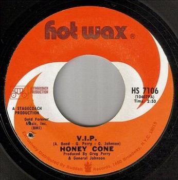 HONEY CONE - V.I.P. - HOT WAX