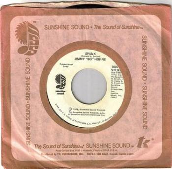 JIMMY BO HORNE - SPANK - SUNSHINE SOUND DEMO