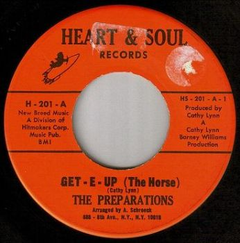 PREPARATIONS - GET-E-UP (THE HORSE) - HEART & SOUL