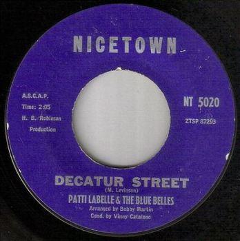 PATTI LABELLE & THE BLUE BELLES - DECATUR STREET - NICETOWN